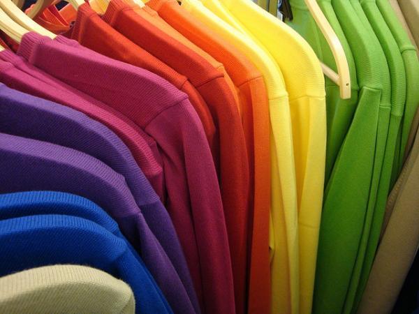 Об одежде и цветах на английском