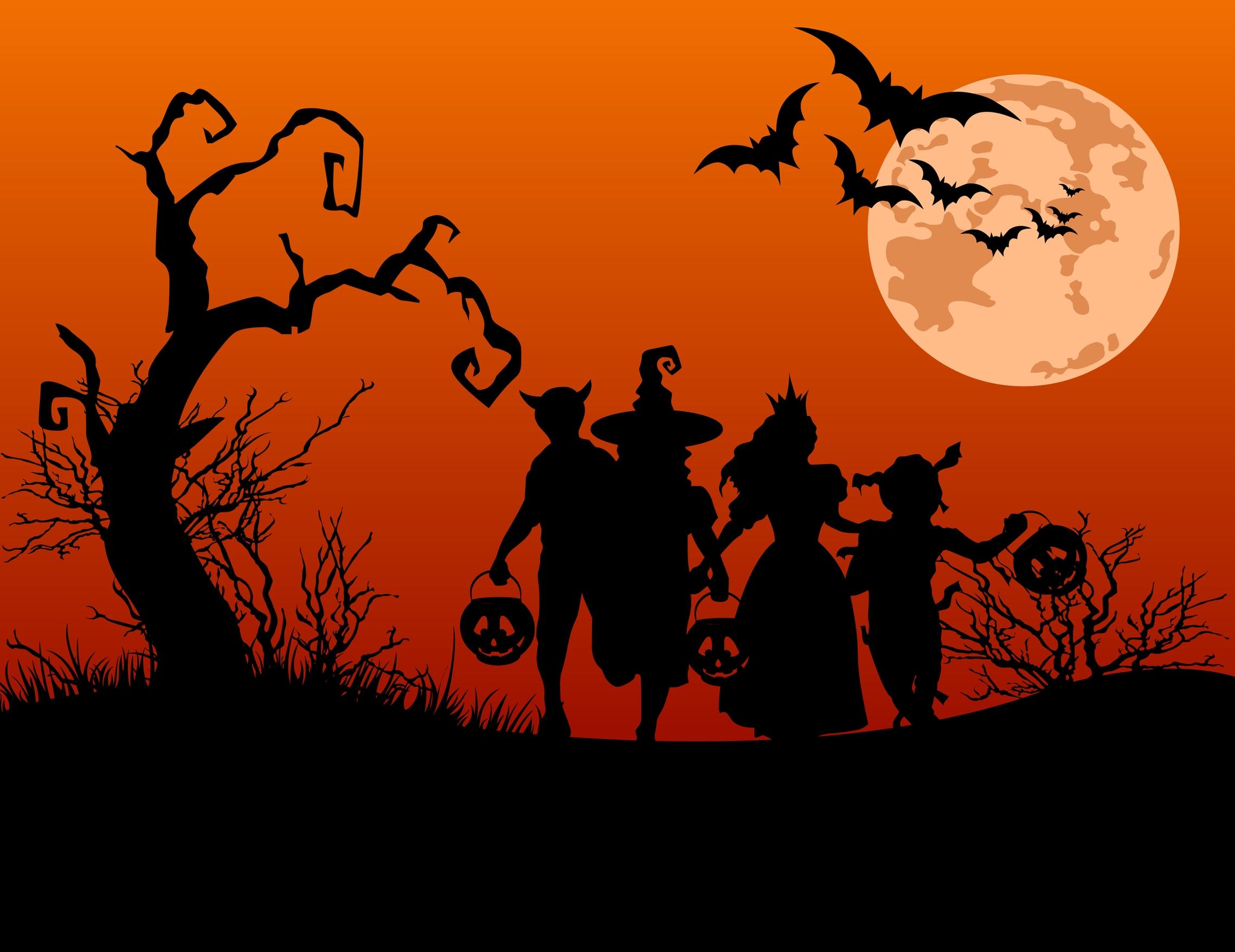Тема Хэллоуин на английском языке. Слова и фразы, картинки и видео с заданиями, факты и топики