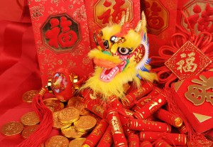 Chinese New Year Ornaments--Traditional Dancing Dragon