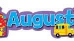 Август