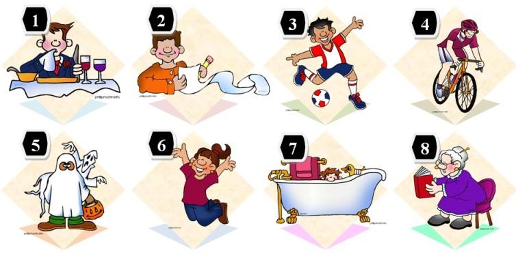 Лучшие упражнения для детей на закрепление времени Past Simple