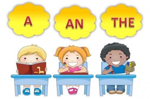 Упражнения на артикль «а-an» в английском языке