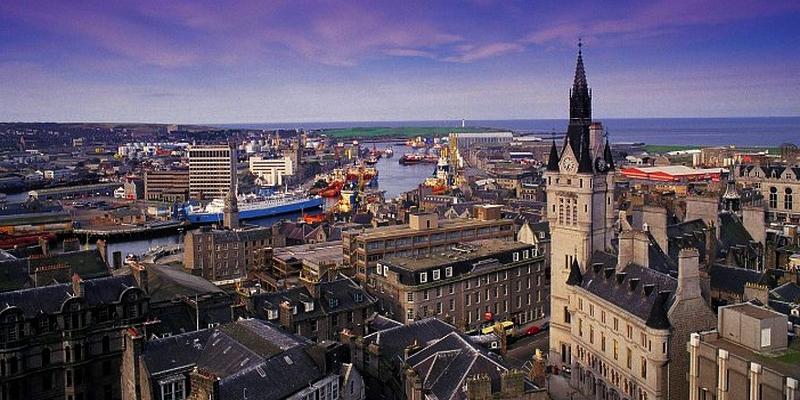 Абердин— главный порт Шотландии