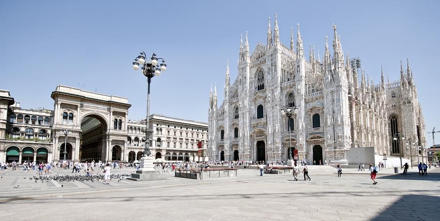 Топик «Visiting Milan»