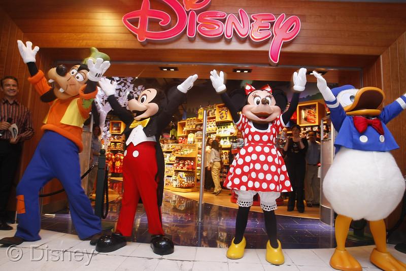 Топик «Disney Store»