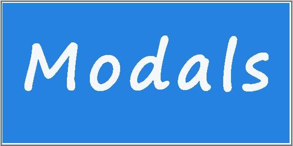 Упражнения по теме «Модальные глаголы в английском языке»