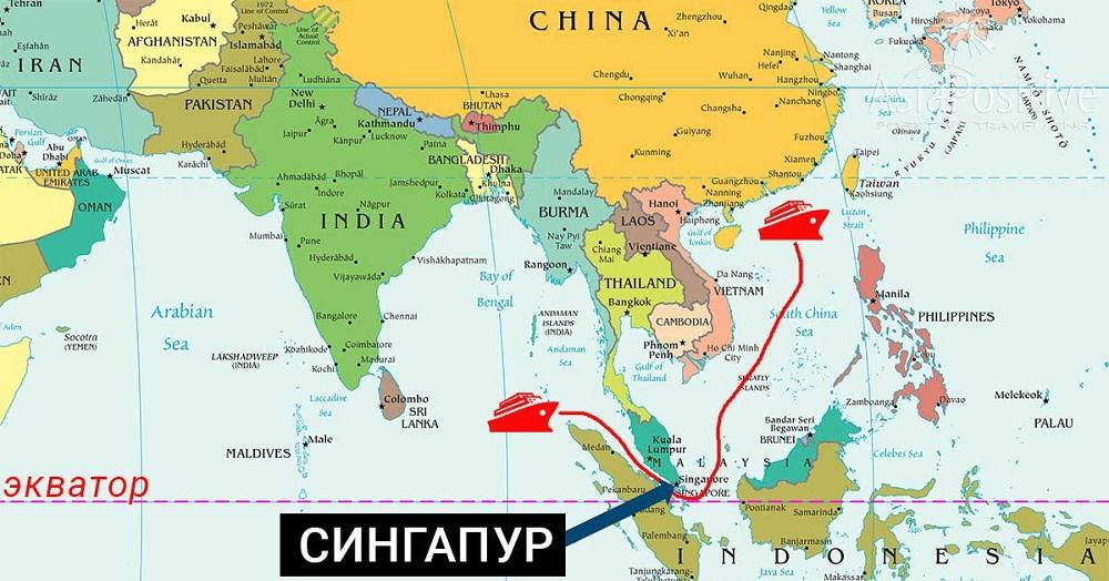 Karta Azije Hydra