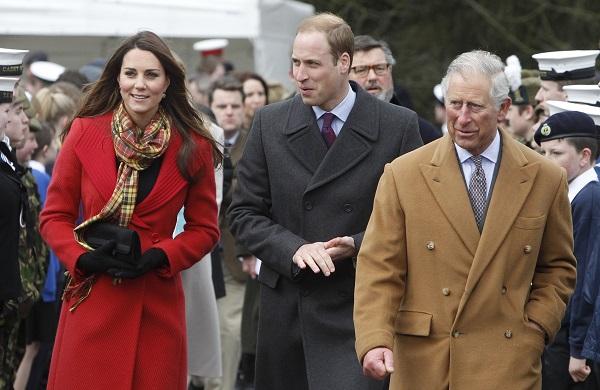 Кейт Миддлтон и принц Уильям отправились в Шотландию