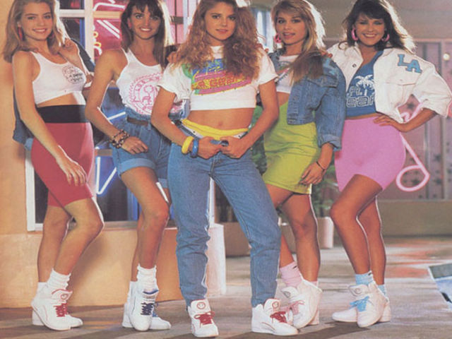 80's fashion. Топик на английском