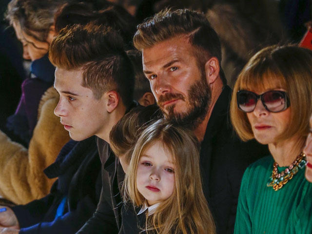 The Beckham family. Топик на английском